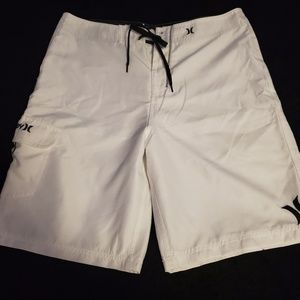 Hurley men's swim trunks in a size 34.
